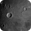 Moon - Sinus Aestuum with Copernicus, Eratosthenes and the ghostly Stadius,                                Axel Kutter