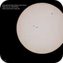 ISS Transit of the Sun_2020-Dec-2,                                elbee