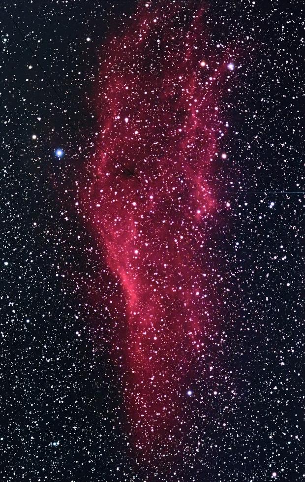 California Nebula,                                LakeFX