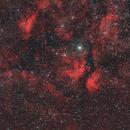 Sadr surroundings IC 1318 / Canon 600D mod + 200mm f/2.8,                                patrick cartou