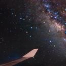 Milky Way on board a 747, over the Atlantic Ocean,                                Alessandro Merga
