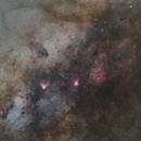 M16 & Milky Way,                                s1macau