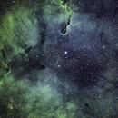 IC 1396 Elaphant Trunk - Neb - Hubble Palet,                                Dennis Vollink