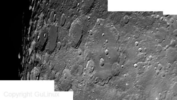 Moon: Clavius, Biancanus, Klaproth, Casatus,                                Marco Gulino