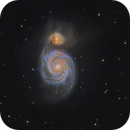 M 51 with C8,                                Elmiko