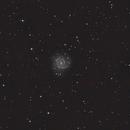 M74 - crop - 130pds/unmodded DSLR,                                Florian Drews