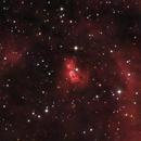Sh2 106 HA RGB (AKA The Snow Angel Nebula),                                jerryyyyy