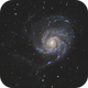 M101 - Pinwheel Galaxy,                                Job Bacon