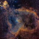 IC 1805 - The Heart Nebula in SHO Narrowband,                                David Andra