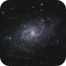 M33 Triangulum Galaxy @ Full Moon,                                Gebhard Maurer