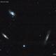 LEO TRIPLET (M65, M66, NGC 3628),                                Roberto Luiz Spen...