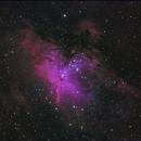 M16 H-alpha RGB,                                Rafael Bezerra Dalla Costa