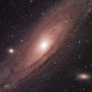 M31 in RGB,                                gerald@evans