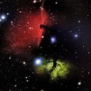 IC434 + H28-5 (Horsehead + Flame Nebulas),                                Fabian Rodriguez Frustaglia