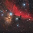 IC434, B33, NGC2024 - Horsehead and Flame Nebula,                                Miroslav Horvat