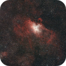 M 16 The Eagle Nebula Wide,                                Andrew Hayes