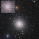 Hercules Globular Cluster with Pan-STARRS Luminance Insert,                                Eric Coles (coles44)