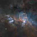 NGC 3576 & 3603 in (Ha)SHO,                                Ignacio Diaz Bobillo