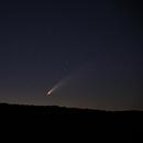 NEOWISE 2020,                                nandobike