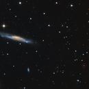 Twin Quasar Q0957+561 - Gravitational Lens - 8.7 Billion Light Years,                                Jerry Macon