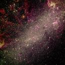 LMC - 20171120 - 500mm - RGB(30sX3X58) (64XHa + 48XOIII + 48XSii)X300s,                                Gabe van den Berg
