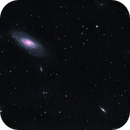 M106 Galaxy in LRGB,                                Douglas J Struble