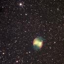 M 27/NGC 6853-Nebulosa manubrio,                                orooro