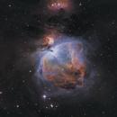 M42 - Orion Nebula - SHO,                                Jeff Kisslinger