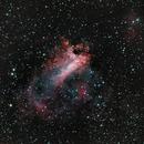 Swan Nebula / Omega Nebula / M 17,                                drivingcat