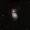 M51 - The Whirlpool Galaxy,                                Terry Danks