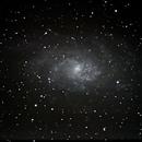 M33 (galaxie du triangle) - Triangle,                                Patrick ROGER