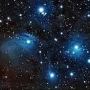 The dusty Pleiades ,                                Shailesh Trivedi