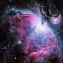 Nébuleuse d'Orion (M42),                                Julien Bourdette