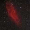 California nebula (NGC 1499), first try.,                                Lukas Šalkauskas
