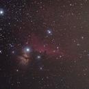 Horsehead and flame nebula,                                LittleKing