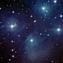 Messier 45 - Plejaden,                                Günther Eder
