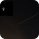 ISS passing through Ursa Minor (with a detail image),                                Petr Hykš