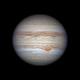 Jupiter under superb seeing,                                Michael Wong