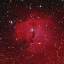 NGC2327, the Head of the Seagull Nebula AKA IC2177, from Deep Sky Chile in February 2020,                                Yves Jongen
