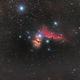 Horsehead and flame nebula,                                BramMeijer