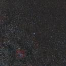 IC1396 ElephantTrunk Iris NGC7023 Wide Field ,                                msmythers