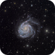 M101 - Whirlpool Galaxy,                                Elvie1
