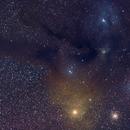 Rho Ophiuchus Cloud Complex,                                brewatl