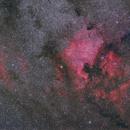 NGC7000 and SH2-119,                                Yuichi Kawamoto