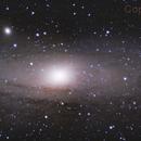 Galaxia Andrómeda - Mosaico,                                Carlos A. Archila