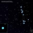 Uranus et ses satellites, Courbe de Rétrogradation de Dec2020/Fev2021,                                Georges