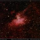M16 - Eagle Nebula in Serpens Cauda,                                José Miranda