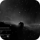 IC 424 2x H-alpha Mosaic in Orion (The Horsehead Nebula),                                MJF_Memorial_Observatory