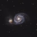 Whirlpool Glaxy (M51),                                apaps