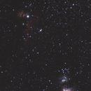 Large field around the Orion nebula,                                JKordel